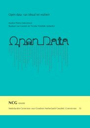 open data | van ideaal naar realiteit - Nederlandse Commissie voor ...