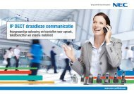 Brochure IP DECT - NEC Unified Solutions