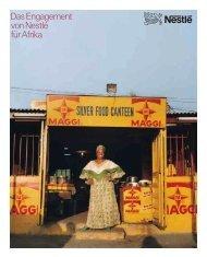 Das Engagement vonNestlé fürAfrika