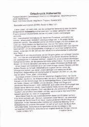 Chronik Hohen Erlitz - Bärnwald-Neratov