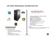 HP Z600 PERSONAL WORKSTATION
