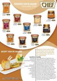 PROMOTIE VAN DE MAAND - Nestlé Professional