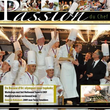 De Bocuse d'Or: olympics voor topkoks - Nestlé Professional