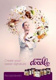 Create your sweet signature - Nestlé Professional