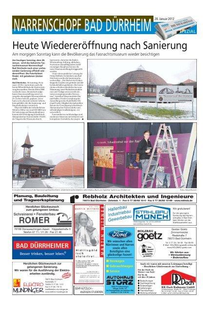 Planung, Bauleitung und Tragwerksplanung Rebholz ... - NQ Online