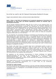 Deutsch-Griechisches Manifest für Europa - Netzwerk Europäische ...
