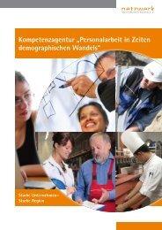 Personalarbeit in Zeiten demographischen Wandels - Netzwerk ...