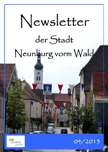 Newsletter 04-2013 - Neunburg vorm Wald
