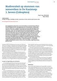1. kevers - Nederlandse Entomologische Vereniging