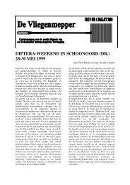 2000 Jaargang 9 nr 1 - Nederlandse Entomologische Vereniging