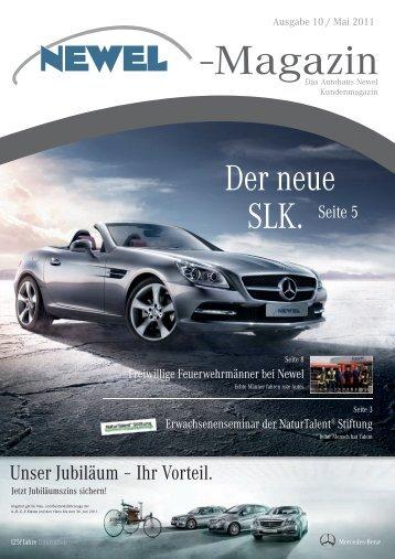 magazin 10/2011 - Autohaus Newel GmbH