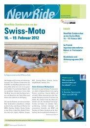 Newsletter spezial zur Swiss-Moto 2012 mit Porträt der ... - NewRide