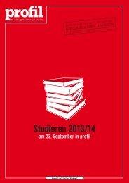Studieren 2013/14 - Verlagsgruppe News