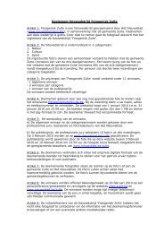 Reglement fotowedstrijd Fotogeniek Zulte Artikel 1 ... - Het Nieuwsblad