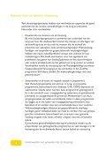 Samenwerken aan preventie met de thuiszorg - Nigz - Page 4