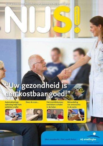 Nijs winter 2010 - Ziekenhuis Nij Smellinghe