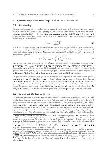 Quantumfysische verschijnselen in het Universum (pdf) - Nikhef