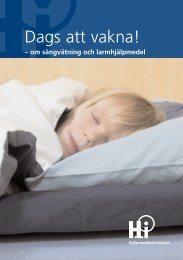 Dags att vakna! - om sängvätning och larmhjälpmedel - Nikola