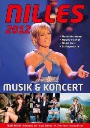 musik & koncert - NILLES REJSER A/S