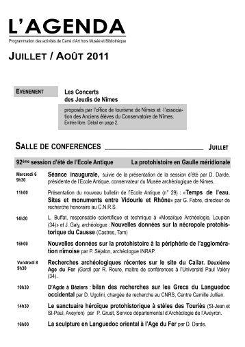 juillet aout.pub - Nîmes