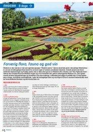 Farverig flora, fauna og god vin - NILLES REJSER A/S