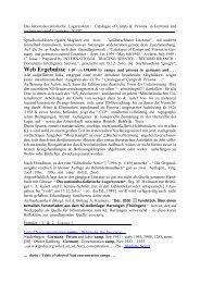 Das nationalsozialistische Lagersystem / Catalogue of ... - Niqel.de