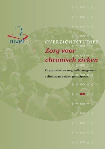 Zorg voor chronisch zieken - Nivel