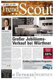 Großer Jubiläums- Verkauf bei Würthner - NQ Online