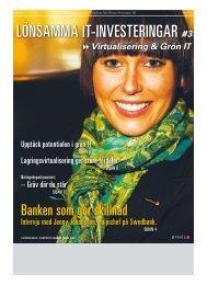Lönsamma IT-InvesTerIngar #3 - Publikationer Provisa Sverige AB ...