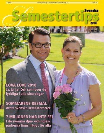 Semestertips i DN 2010 - Publikationer Provisa Sverige AB