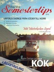 Semestertips i Aftonbladet 2012 (pdf) - Publikationer Provisa ...