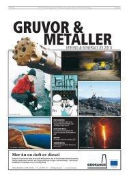 MINING & MINERALS #5 2010 - Publikationer Provisa Sverige AB