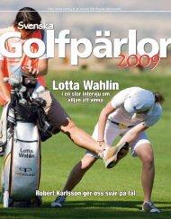 Golfpärlor 2009 - Publikationer Provisa Sverige AB - Provisa ...