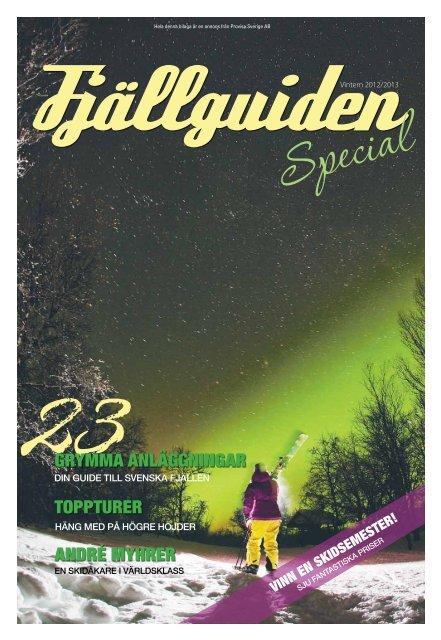 Fjällguiden 2012 Special i DN (mobilanpassad pdf) - Publikationer ...