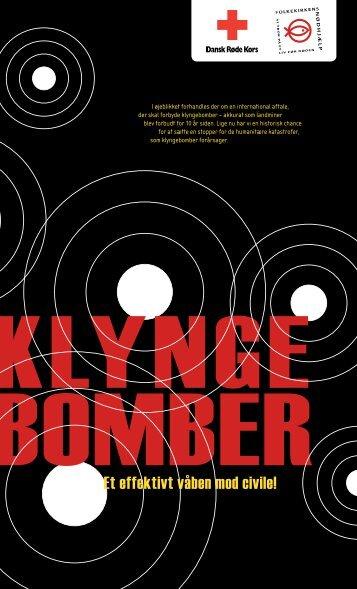 Klyngebomber: Et effektivt våben mod civile - Folkekirkens Nødhjælp