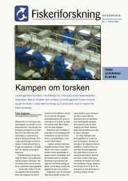 Fiskeriforskning Informerer nr. 1/2006 - Nofima