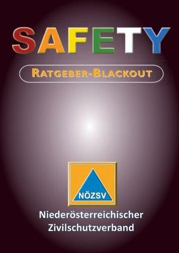 Safety Ratgeber Blackout (pdf) - NÖ Zivilschutzverband