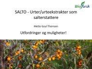 Mette Goul Thomsen - Nofima
