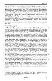 Einleitung (Auszug; Betriebsbegriff) - Nomos
