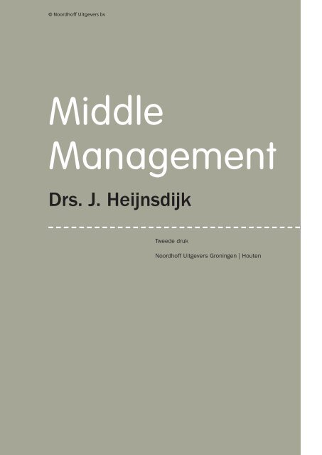 Middle Management - Noordhoff Uitgevers