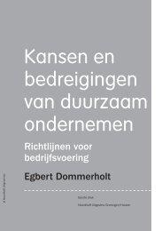 Kansen en bedreigingen van duurzaam ondernemen - Noordhoff ...