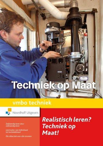 Folder Techniek Op Maat - Noordhoff Uitgevers