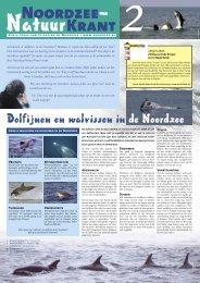 Noordzeekrant najaar - Stichting De Noordzee