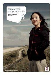 Brochure over Stichting De Noordzee