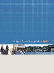 Årsregnskapet til Norges Bank