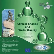 Climate Change and Water Quality - Interreg IVB North Sea Region ...