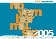 15-20november - November Music