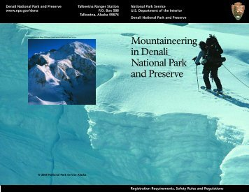 Mountaineering in Denali.lo4 - National Park Service