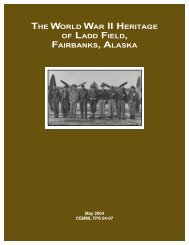 The World War II Heritage of Ladd Field - National Park Service
