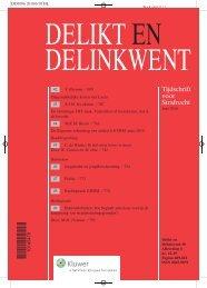Tijdschrift voor Strafrecht - Nrc